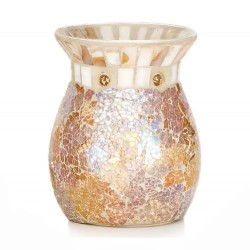 Yankee Candle Gold and Pearl Crackle