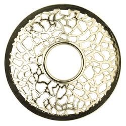 Matrix brushed silver Illuma-Lid