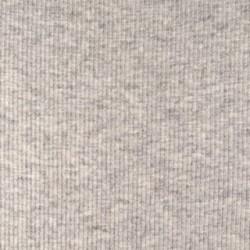 Organic Strickbündchen hellgrau